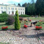 Kwilcz: pałac Kwileckich i klasycystyczny kościół