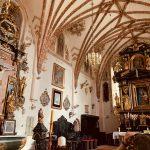 Gotycki kościół w Kamionnie