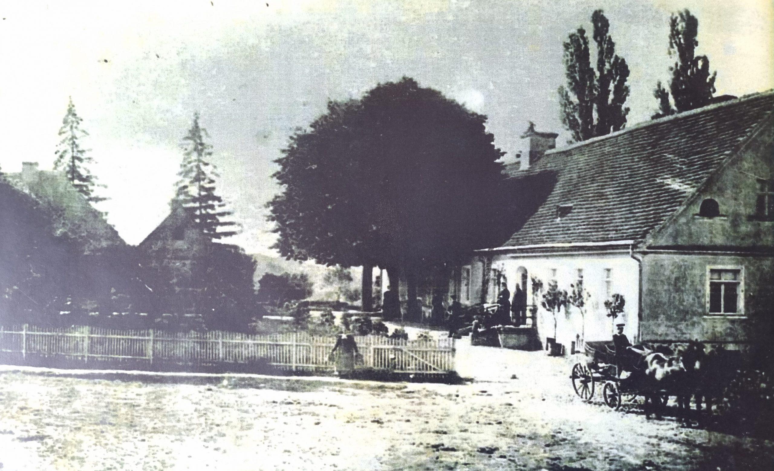 dwór w Mn. ok. 1875