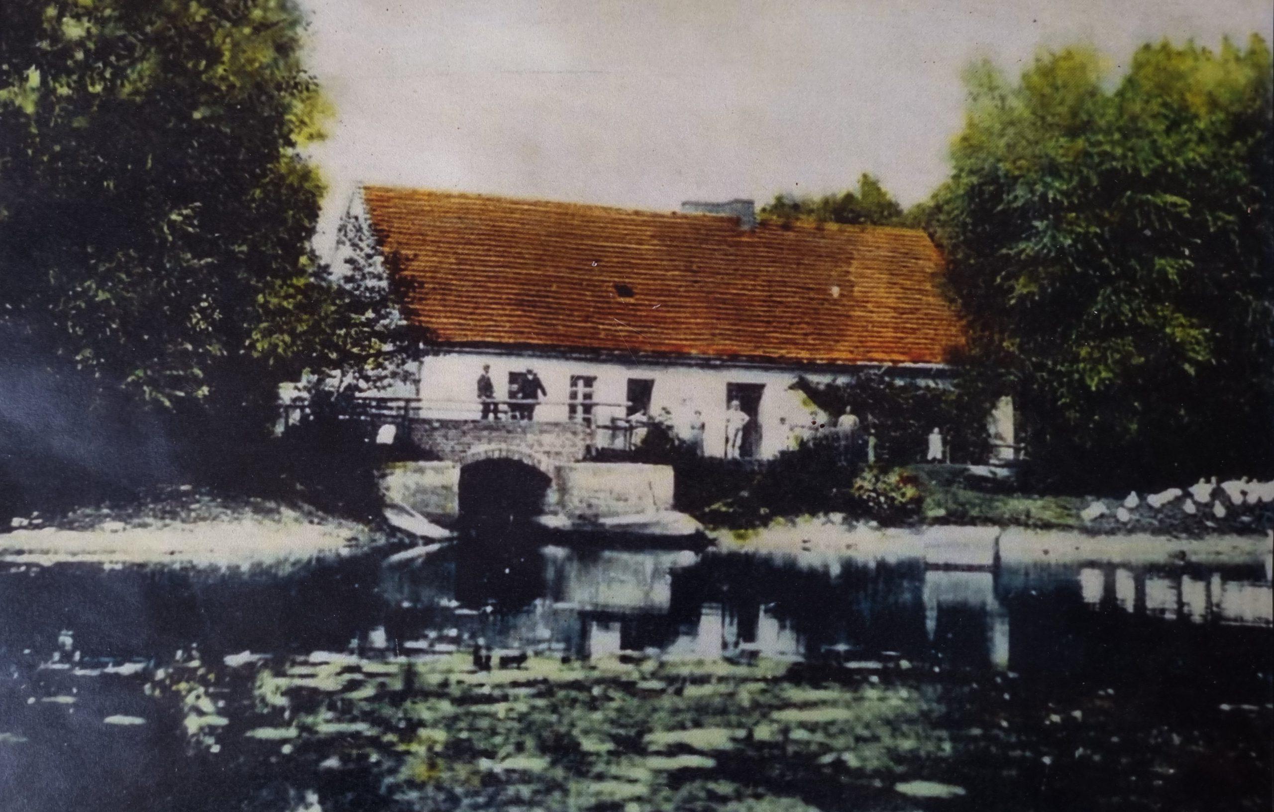 młyn wodny 1914